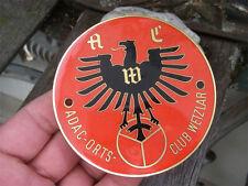 ADAC-ACW automobile ortsclub wetzlar-insigne badge emblème Oldtimer