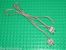 Cable electrique LEGO TRAIN wire + plug double narrow 766c01 / for 4,5 v motor