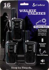 Cobra Cxt195 16-Mile 2-Way Radios Walkie Talkies, 2-Pack