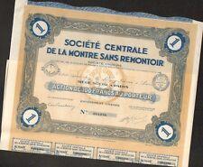 DECO =  LA MONTRE SANS REMONTOIR (H)