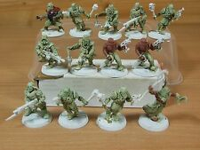 14 PLASTIC CHAOS CULTISTS RENEGADES PAINTED (719)