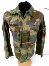 US Army/USMC Woodland Camouflage Combat Uniform Coat Shirt Size Large-Short