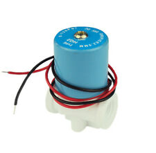 "DC12V 1/4"" Plastic Inlet Solenoid Valve for RO Reverse Osmosis Pure Systerm."