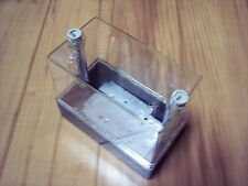 "Weatherproof Electrical Enclosure Box Plastic Clear   5 3/4"" x  2 7/8"" X 4 3/4"