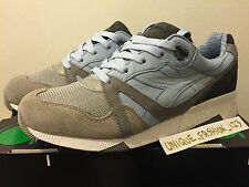DIADORA N9000 SOLEBOX FERRO 13 UK 12.5 47.5 HAL GREY SKY BLUE HANON PATTA KITH