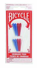 Bicycle Cribbage Pegs 12 pack New Sealed