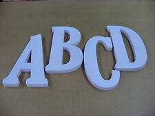 """12"""" Tall x 1"""" Thick Economy Rigid Foam Dimensional Sign Letters , Message Name"""