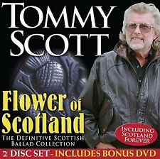 TOMMY SCOTT 'FLOWER OF SCOTLAND' CD & DVD SET (2015)