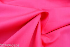 D96 SUPER FINE LUXURIOUS VIBRANT FUSHIA PINK  DUCHESS SATIN SOFT FLOWING DRAPE