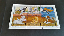 GIBRALTAR 1996 SG 761-766 PUPPIES MNH