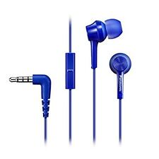 Panasonic In-Ear Earbuds Headphones Earphones for Mobile with Remote/Mic New