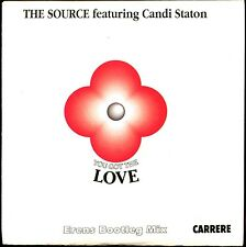 THE SOURCE FEATURING CANDI STATON - YOU GOT THE LOVE - CARDBOARD SLEEVE CD MAXI