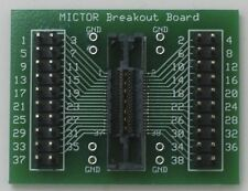 MICTOR Adapter Board 38-pin Logic Analyzer Breakout