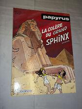 """""""PAPYRUS - LA COLERE DU GRAND SPHINX"""" DE GIETER (1997) EDIT. ORIGINALE"""