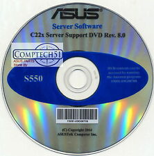 ASUS GENUINE SERVER SUPPORT DISK C22X SERIES SUPPORT REV 8.0  S550