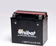 BATTERIA MOTO UNIBAT 12AH CBTX14AH-BS PER POLARIS Sportsman 400 09-11 + ACIDO