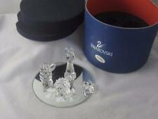 SWAROVSKI CRYSTAL CAT MOUSE HEDGEHOG  MIRROR &  FROG
