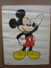 Vintage Mickey Mouse poster Disney 4107