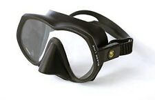 Poseidon Black Line Scuba Diving Mask - Low Volume, Single Lens, High Quality