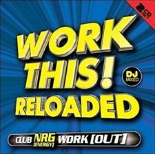 WORK THIS! RELOADED DJ Mixed CD Workout NRG Energy Club