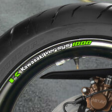 8 x Versys 1000 Wheel Rim Stickers  Decals  Many Colours - naked - B