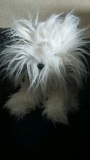 Russ berrie Maggie dog soft toy old English sheepdog dulux dog