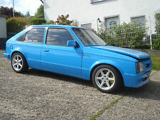 Opel Kadett D Original GTE 1.8L 8 V 2.0L OHC DOHC BMT Hipo Recaro Org GTE Mattig