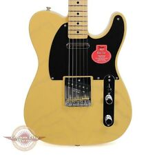 Brand New Fender Classic Player Baja Telecaster Tele Blonde Maple Fretboard Demo