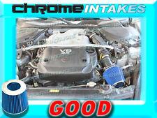 BLUE AIR INTAKE ADAPTER KIT FOR 03-06 07 INFINITI FX35/G35/G FX 35/NISSAN 350Z