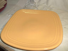 """Fiesta SQUARE LUNCHEON/Lunch Plate - 9 1/4"""" - 1st. New Never Used MARIGOLD"""