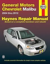 General Motors Chevrolet Malibu 2004 Thru 2012 (Hayne's Automotive Repair Manual