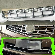 1X For Cadillac SRX 2013-15 Car Front Grill Grille Grill Chrome&Black Lower LLJ