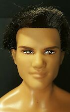 BARBIE Ken Fashionista Hazel eyes rooted bLACK  Hair boyfriend dOLL