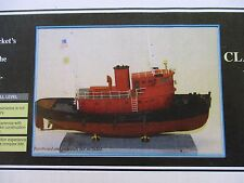 BLUEJACKET K1080 DIESEL TUGBOAT 3/16' = 1' WOODEN KIT