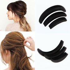 3Pcs Different Sizes Fluffy Crescent Clip Bangs Paste Root Hair Heighten Tools