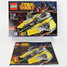 LEGO STAR WARS 75038 BOX & INSTRUCTIONS MANUAL ONLY. *NO LEGO PIECES* Jedi Inter