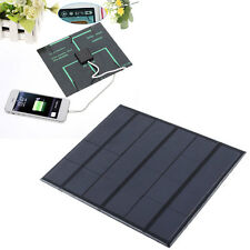 New 3.5w Solar Panel two sockets Battery Charger high efficiency Phone