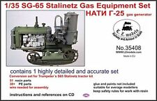 1/35th LZ Models Soviet GS-65 Stalinetz gas generator conversion set