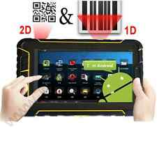 Rugged Android 4.4 Tablet 2d Scanner Codice a Barre Impermeabile All'aperto ip67 4g WIFI NFC