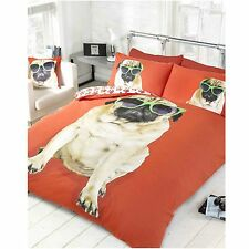 Percy Pug King Size Duvet Cover  Set