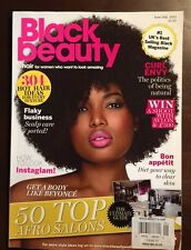 Black Beauty Top Afro Salons Diet Clear Skin How To June July 2015 FREE SHIPPING