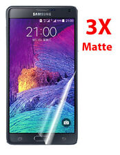 3Pcs Anti Glare Matte LCD Screen Protector Cover Films for Samsung Galaxy Note 4