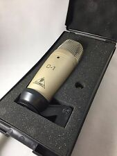 Behringer C-1 Professional Condenser Microphone, Amazing Condition! Works Great!