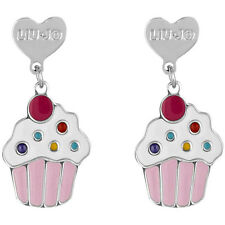 Liu Jo Jewellery Junior Collection Baby Bambina Argento Orecchini BLJ364 Cupcake