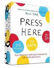 Press Here Game by Hervé Tullet (2014, Board Book)