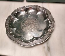 Repro Chinese Yuan Dynasty Gorham Silverplate Plate Nelson Atkins Museum