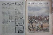 LA DOMENICA DEL CORRIERE 18 24 giugno 1939 Film di vita etiopica Frana Cervello