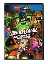 LEGO DC Comics Super Heroes: Justice League Gotham City Breakout (DVD, 2016) NEW