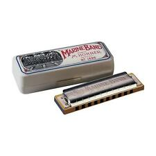 HOHNER MARINE BAND DIATONIC 10-HOLE HARMONICA MODEL1896BX IN THE KEY OF LOW E
