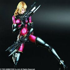 *NEW* Space Pirate Captain Harlock #2 Kei Yuki Play Arts Kai Action Figure